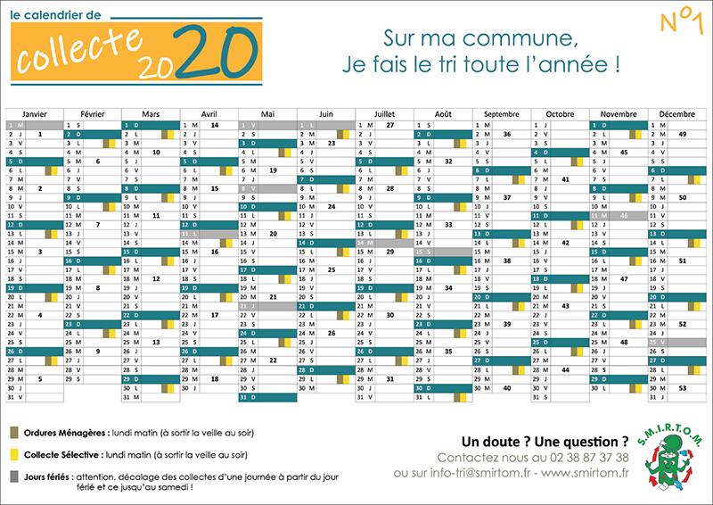 Calendrier De Ramassage Des Ordures Ménagères 2021 Ville d'Amilly – Ordures ménagères